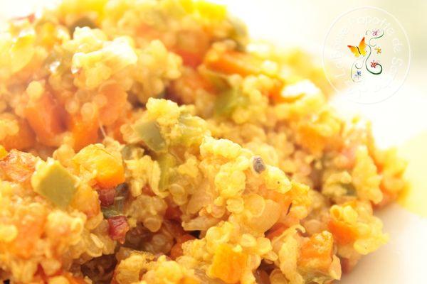 Méli mélo de légumes au Quinoa