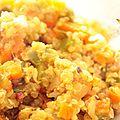 Méli mélo de légumes au quinoa ig bas
