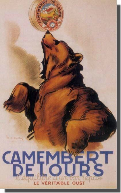 camembert de l'ours