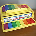 Piano Fisher Price vintage - années 80