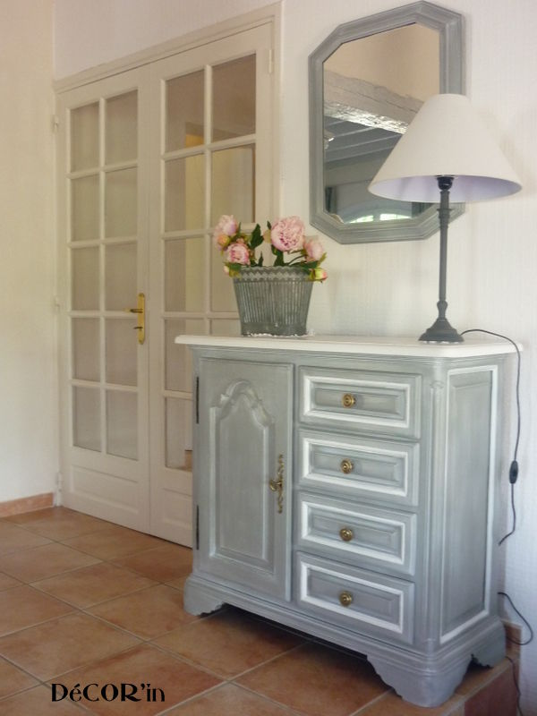 Meuble bas relook avant apr s decor 39 in id es conseils - Modele de meuble repeint ...