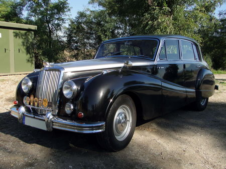 ARMSTRONG SIDDELEY Sapphire Limousine 1952 1958 Randonnee des Vendanges de Rustenhart 2010 2
