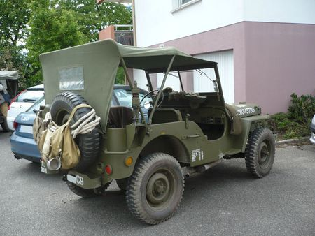 WILLYS Jeep MB Truck 1-4 Ton 4x4 Herrlisheim (2)