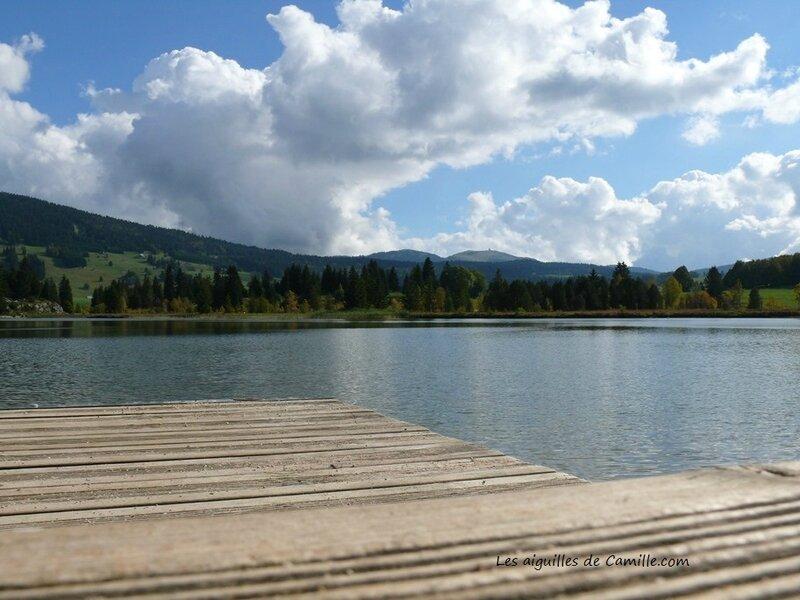 Le lac des Rousses en Automne