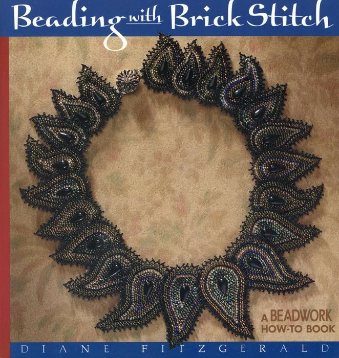 Pour le brick stitch