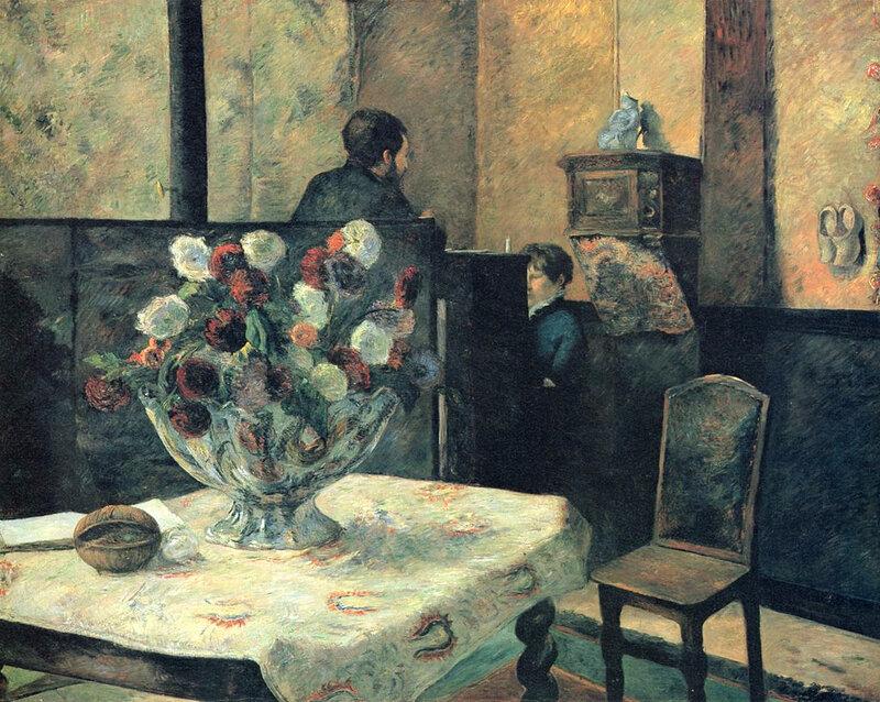 1881 - Appartement de Gauguin, rue Carcel