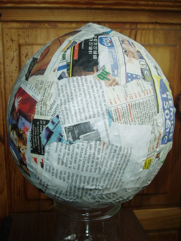 Comment faire du papier mache???? - Le blog de les creas de