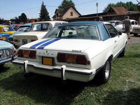 FORD Mustang II Ghia Coupe 1977 Festival des Vieilles Mecaniques de Neuwiller-Les-Saverne 2009 2