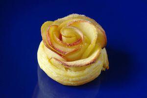 fleur de pomme tarte aux pommes dessert simple facile