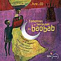 Comptines et berceuses du baobab [livre + cd]