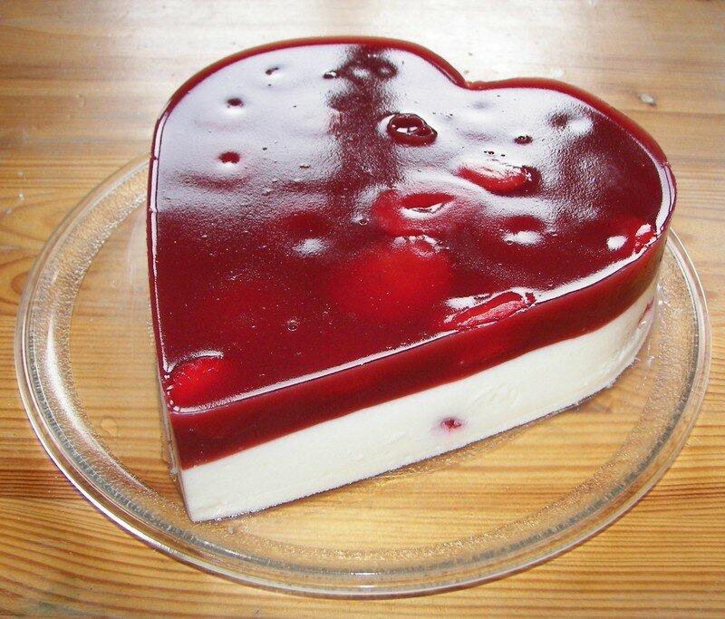 Coeur de fraises