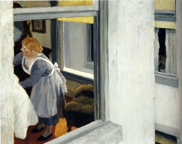 Edward hopper Appartement 1923