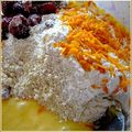Cakes cranberries orange