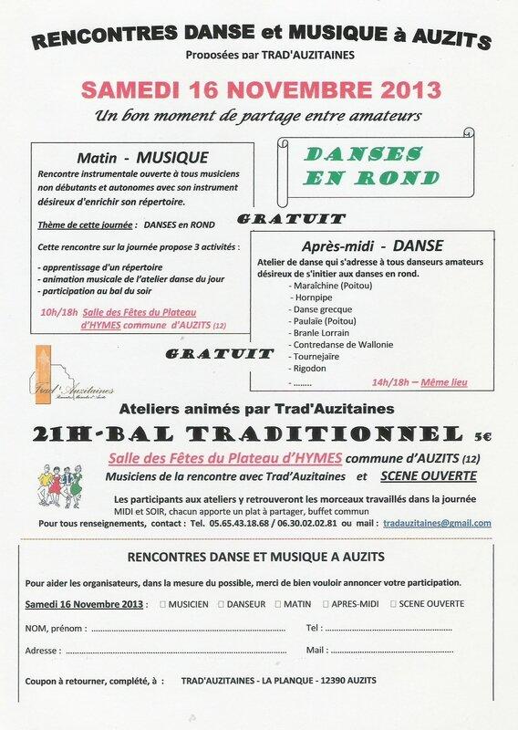 Rencontres TRADA 2013
