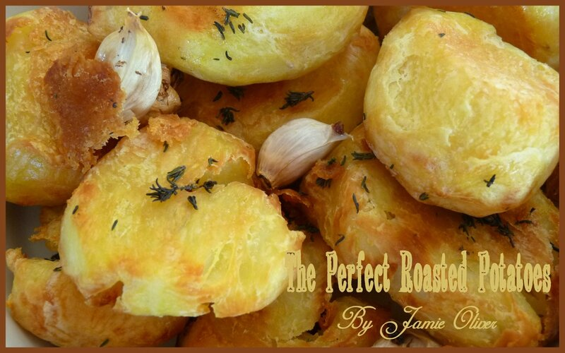 The perfect roasted potatoes