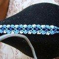 un bracelet bresilien avec perles