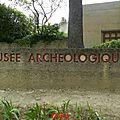 2014-Vaison la Romaine le musée le 2 mai 2014.