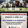 African village hotel - classico real madrid - barca
