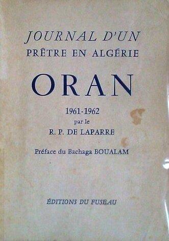 Journal d'un prêtre en Algérie couv