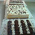 Gâteaux - petits fours frais -