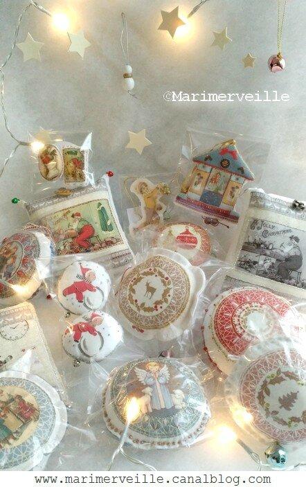 créations marimerveille, atelier de Noël