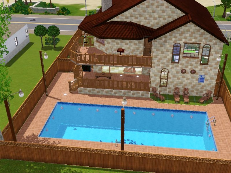 Villa bella sims3 maison a telecharger gratuitement - Jeu de construction de maison virtuel ...