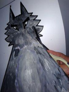 96_Personnages Animaux monstres_Le grand méchant loup (19)