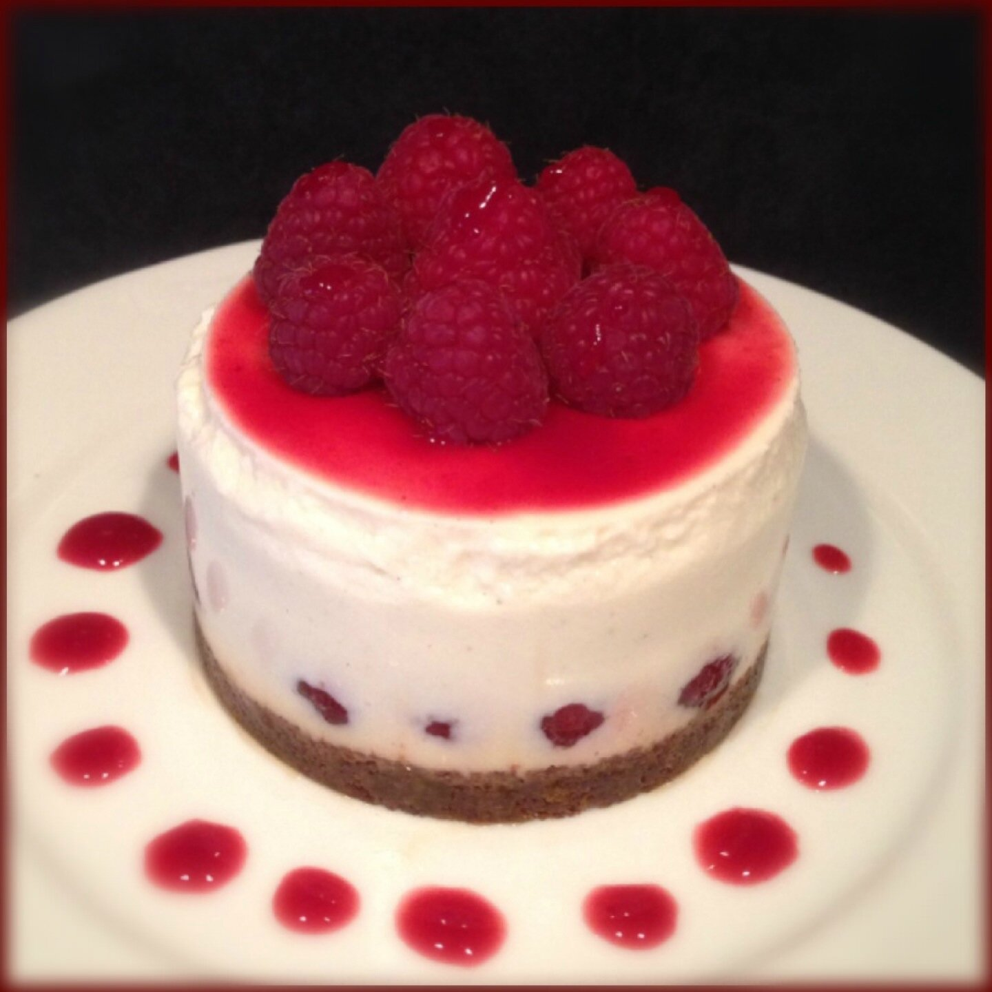 Cheesecake aux framboises sans cuisson cook 39 s dream - Cheesecake speculoos sans cuisson ...