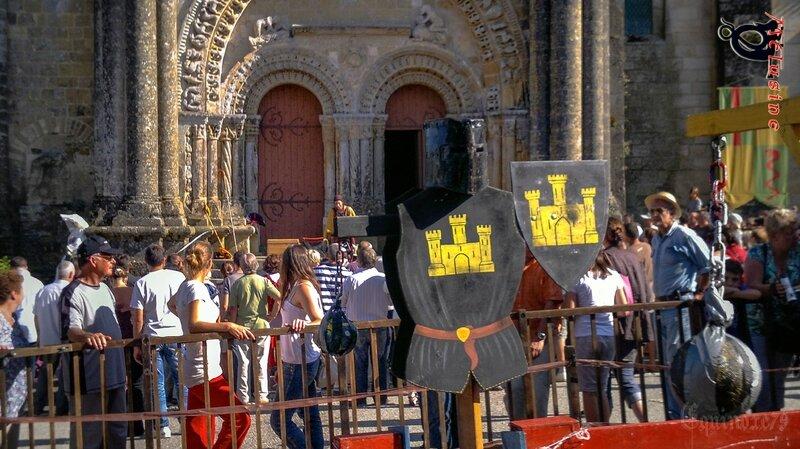 Tournoi de Chevalerie, les Chevaliers de Mélusine - Mervent Vouvant (1)