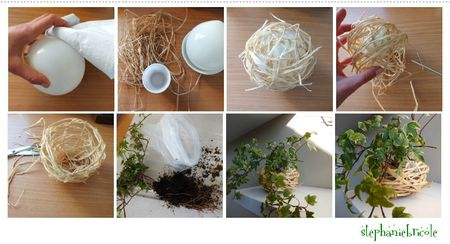 diy deco vegetale, idée de DIY vegetal