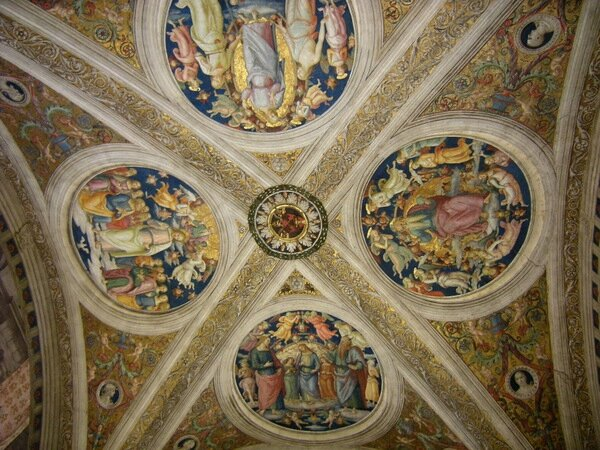 Roma musee vatican chambres raphael 8