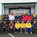 Départ Cross Départemental Sapeurs Pompiers le 4 déc. 2009