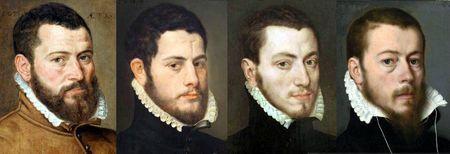 Portraits des Pays-Bas vers 1564-1567