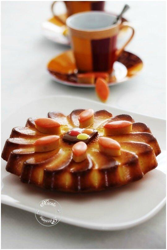 Jean francois piege recette gateau a l'orange de sa maman