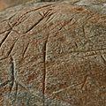 Figures anthropomorphes des roches gravées de la Carapa