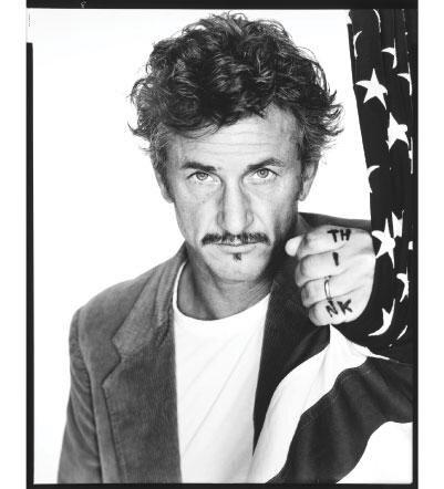 Sean Penn, actor, San Francisco, 2004