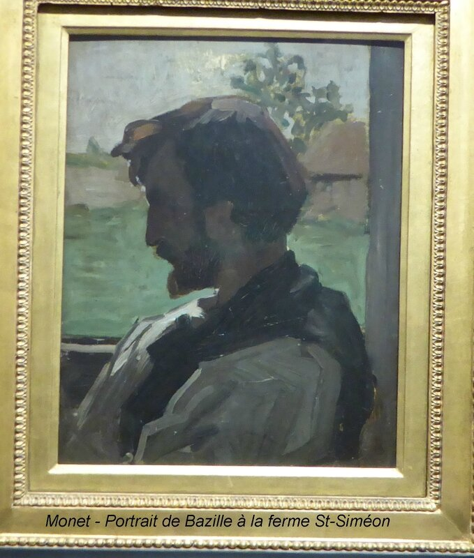 Monet - Portrait de Bazille