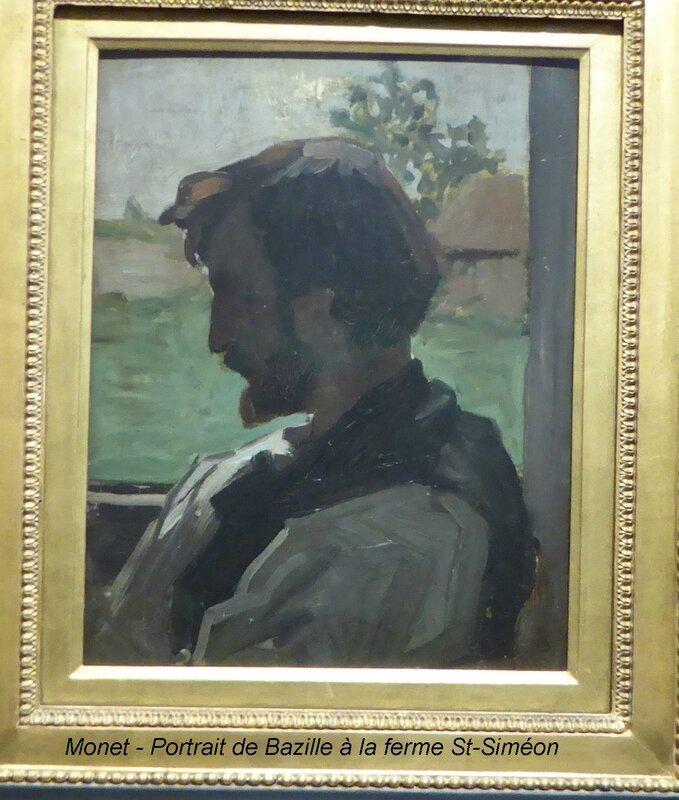 Monet - Portrait de Bazille