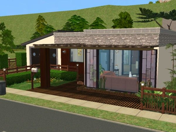 La villa idjya maisons deco sims2 for Decoration maison sims 4