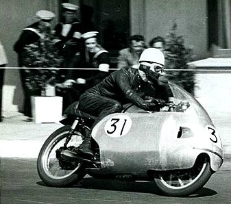 Jim Redman (Norton - North West 200 - 1957)