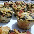 Muffins de courgettes