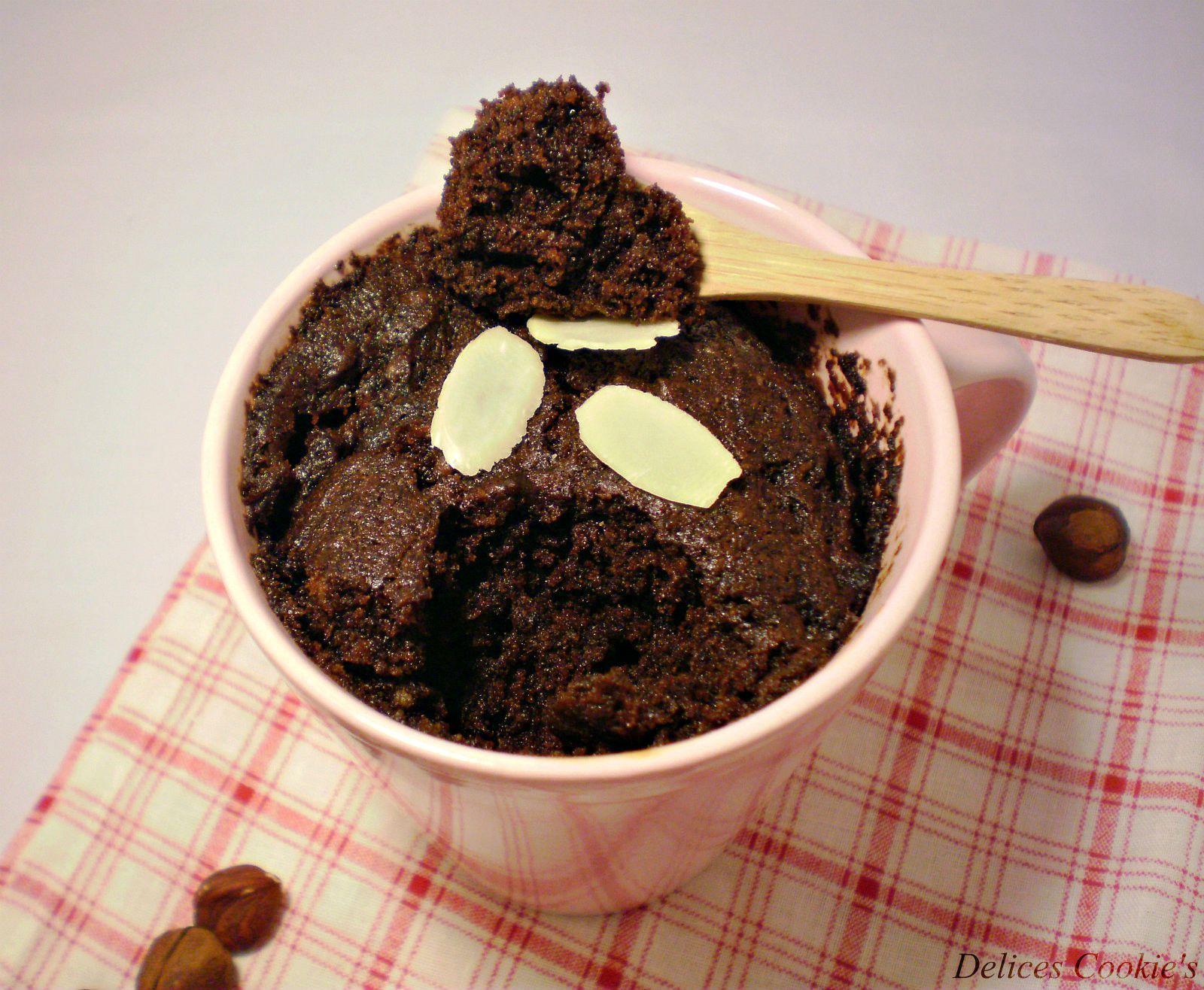 Chocolate Mug Cake A La Noisette Sans Oeufs Sans Beurre Sans