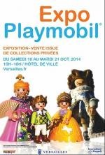 Affiche Playmobil Versaille Oct 2014