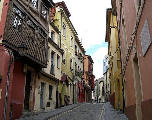 Gijon-Cimadevilla ruelle