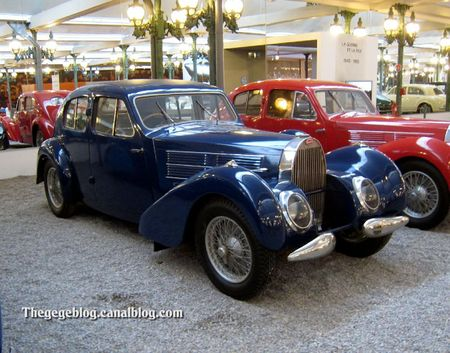 Bugatti type 57 C berline de 1938 (Cité de l'Automobile Collection Schlumpf à Mulhouse) 01