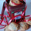 Les biscuits de marie, aux canneberges et au chocolat, sans gluten