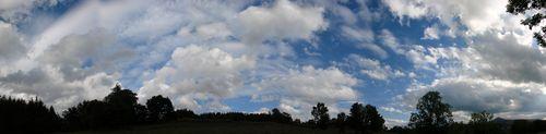 2008 06 12 Panorama du ciel à 19h08
