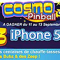 Cosmo pinball : nouvel événementiel sur prizee