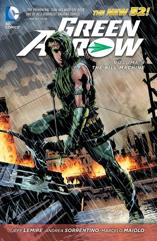 green arrow vol 4 the kill machine TP