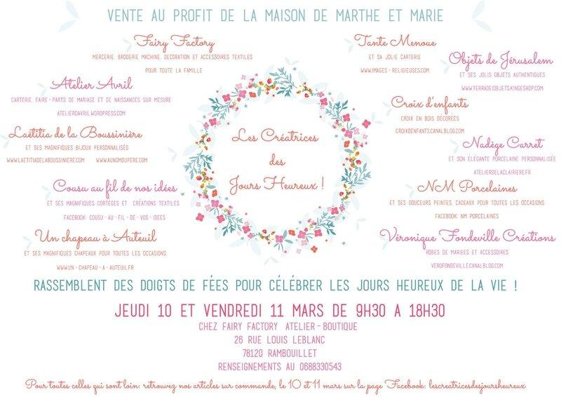 Invitation pour la vente de Rambouillet